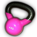 STAMINA Kettlebell [DK 4107-4KG] - Pink - Barbell / Dumbbell